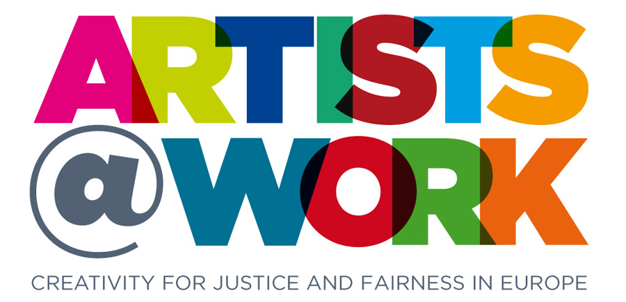 artist and work logo